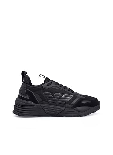 Emporio Armani  Sneaker Ayakkabı Erkek Ayakkabı X8X070 Xk165 A083 Siyah
